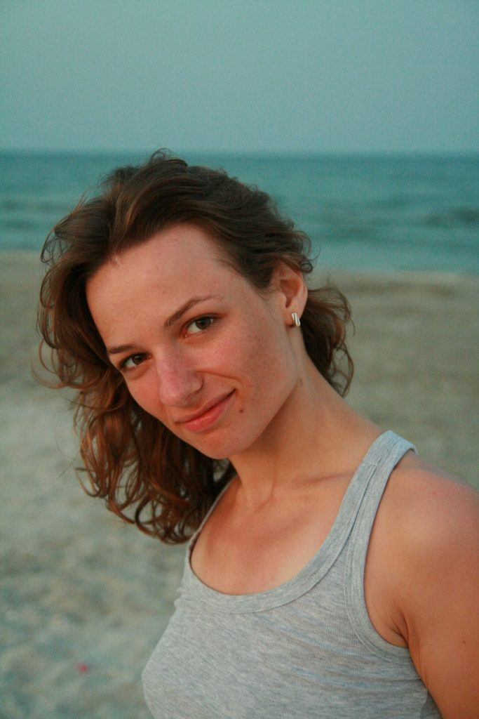 Natalia Dabija la mare